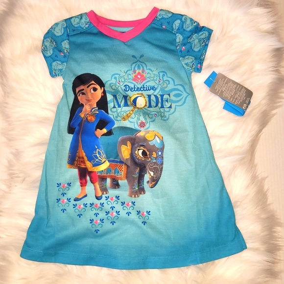 Disney Mira Nightgown for girls size 3 blue